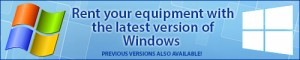 Get a Quote on an Equipment Rental with Windows 10 from Rentacomputer!