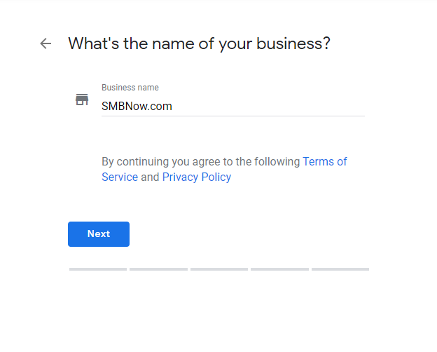 Google my business for small to medium businesses